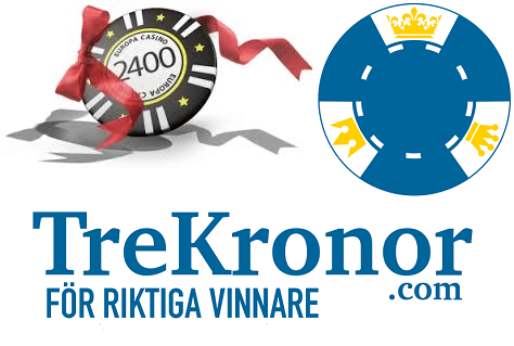 TreKronor.com logo och bonuschips