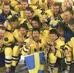 VM-seger i Zurich Tre Kronor 1998